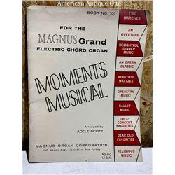 Music score Moments Musical Piano