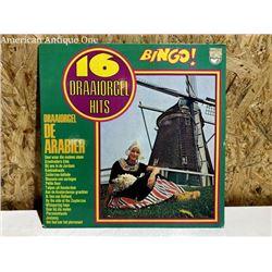 Vintage record / 16 DRAAIORGEL HITS