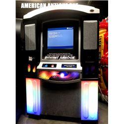 AMI touch screen internet digital jukebox
