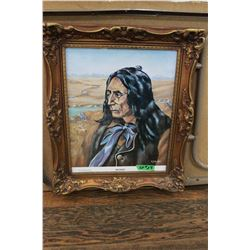 "Print ""Chief Crowfoot of the Blackfoot Tribe"""