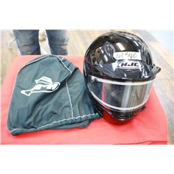 HJC Helmet with Headset (New) - in a bag