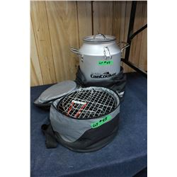 """Can Cooker"" (with a Storage Bag) and a Cooking Pot (in an Insulated Storage Bag)"