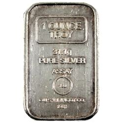 Vintage 1981 A-Mark 1oz .999 Fine Silver U.S.V.I. Ingot Co. Bar Ingot. (TAX Exempt)