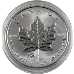2000 Canada 1oz fine silver reverse proof privy mark year of the Dragon. Coin come encapsulated. (ta