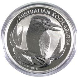 2012 10 oz. Australian $10 fine Silver Proof Kookaburra Coin. Coin comes in original capsule. (Tax e
