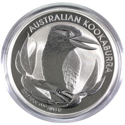 2012 10 oz. Australian $10 fine Silver Proof Kookaburra Coin. Coin comes in original capsule. (Tax e