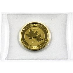 2020 Canada 1/4 oz. Special Edition $10 Gold Maple Leaf  .9999 Pure. Comes sealed in original Pliofi
