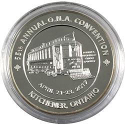 RARE! 2017 Ontario Numismatic Association 55th Annual O.N.A. Convention in Kitchener, Ontario. The m