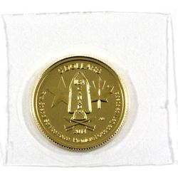 2014 Canada $5 1/10oz First Special Service Force .9999 Fine Gold in Sealed Mint Plastic. (TAX Exemp