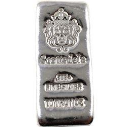 10oz Scottsdale .999 Fine Silver Bar. (TAX Exempt)