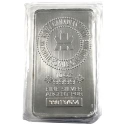 10oz Royal Canadian Mint .9999 Fine Silver Bar in Sealed Plastic. (TAX Exempt)