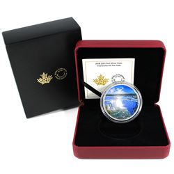 2018 Canada $30 Fireworks at the Falls Fine Silver Coin (Outer sleeve lightly bent). TAX Exempt
