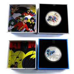 2016 Canada $20 DC Comics Originals Fine Silver Coins - The Trinity & The Dark Knight (Trinity coin