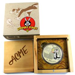 2015 Canada $30 Looney Tunes - Birds Anonymous 2oz. Fine Silver Coin (Toned). TAX Exempt