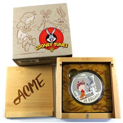 2015 Canada $30 Looney Tunes - The Rabbit of Seville 2oz. Fine Silver Coin. (TAX Exempt)