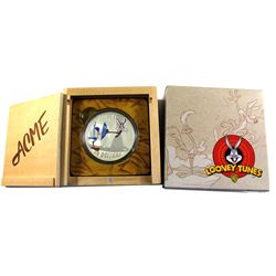 2015 Canada $30 Looney Tunes - Fast and Furryous 2oz. Fine Silver Coin (Lightly toned). TAX Exempt