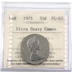 50-cent ICCS Certified PL-65 Ultra Heavy Cameo!