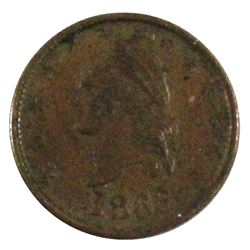 """1863 United States Civil War Token """"Our Country"""" in EF-AU."""