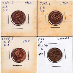 Estate Lot of 1968-1977 Canada 1-cent, 5-cent, 10-cent, 25-cent, 50-cent & Nickel Dollars with UNC o