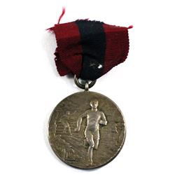 1941 England 2nd Canadian Division Fasted Time Running Racing Medal. 32mm diameter.