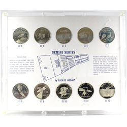 *USA Gemini Series 10-Medal Set Commemorating America's Second Manned Space Flight Program by Galaxy