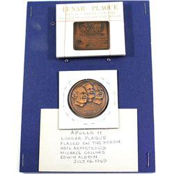 Estate Lot of USA Apollo Mission Commemorative Medals. You will receive Apollo 7, 8, 9, 10, 3x 11, 1