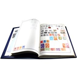 **Estate Lot of World Stamp Ambassador Album Binder Countries K-Z. You will receive a very nice vari