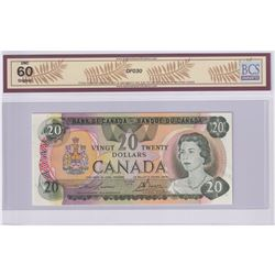 Low Serial Number! BC-54a-N5-iv 1979 Bank of Canada $20, Lawson-Bouey, S/N: 50000000257, BCS Certifi