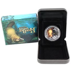 2013 Australia 50-cent Bush Babies II - Platypus 1/2oz Fine Silver Coin. (TAX Exempt)