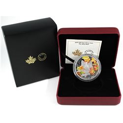 "2019 Royal Canadian Mint $30 2oz Fine Silver ""The Wily Wolf""  #1347/4000. come with all original Min"