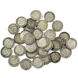 Lot of 1917 Canada 10-cent Coins. 32pcs