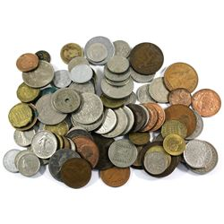 Group Lot of Miscellaneous World Coinage. You will receive 1.16lbs of coins.