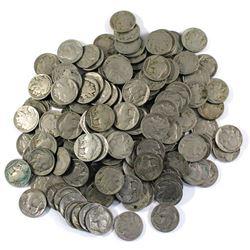 *Mixed Date USA Buffalo Nickels. 162pcs
