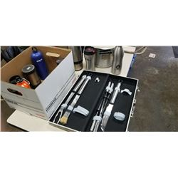 BBQ TOOL SET, AND CAMPING CHAIRS