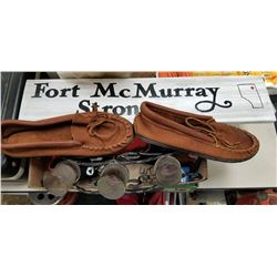 FORT MAC STRONG SIGN AND MISC LOT