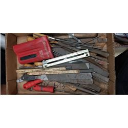 ASSORTED DRILL BITS AND FILES