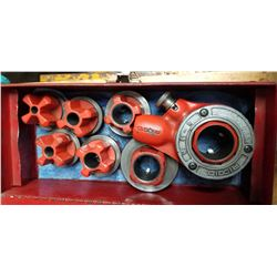 "1/8"" - 1/4"" RIDGID THREADER SET"