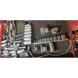 DRAWER W/ SOCKET SET AND OTHER TOOL