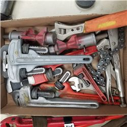 RIDGE, MASTERCRAFT, PIPE AND CRESNT WRENCHES