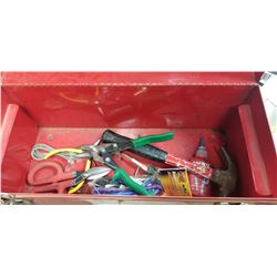 BEACH TOOL BOX WOTH MISC TOOLS