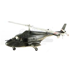 Lot #10 - AIRWOLF ( T.V. SERIES, 1984–1987) - Airwolf Helicopter Model Miniature