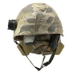 Lot #26 - ALIENS (1986) - Pvt. Frost's (Ricco Ross) Screen-Matched Helmet