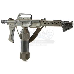 Lot #27 - ALIENS (1986) - Practical Special Effects Colonial Marine Flamethrower Unit