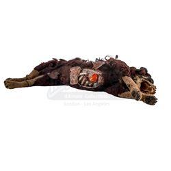 Lot #30 - ALIEN3 (1992) - Dog Puppet with Dogburster Alien