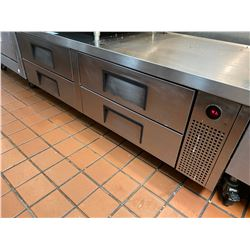 6FT STAINLESS STEEL REFRIGERATED 4 DRAWER APPLIANCE TENT