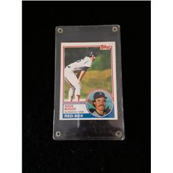 1983 Topps Wade Boggs Rookie Card