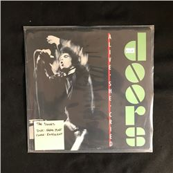 """THE DOORS """"ALIVE SHE CRIED"""" LP"""