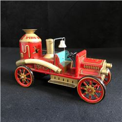 MADE IN JAPAN TINPLATE FIRE ENGINE TOY