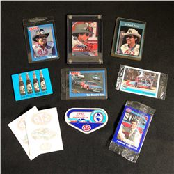 RICHARD PETTY NASCAR COLLECTIBLES LOT (AUTOGRAPHED CARD...)