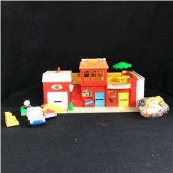 Vintage 1973 Fisher Price Play Family Village,